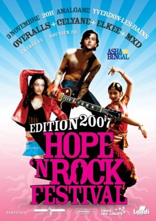Le programme de l'édition 2009!!! Hope'n Rock